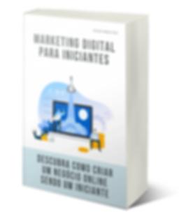Capa E-book Margeting Digital para Inici