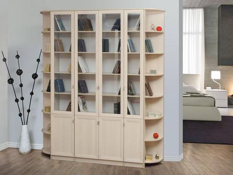 В нашем магазине появилась возможность заказать шкафы для своей домашней библиотеки!