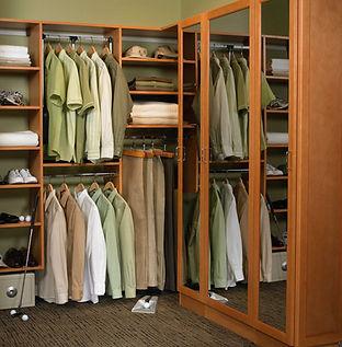 гардеробные шкафы-купе