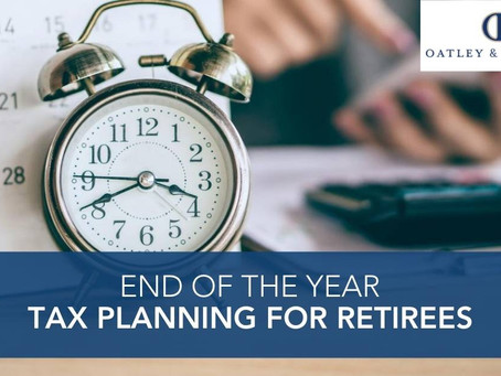 End of the Year Tax Planning for Retirees
