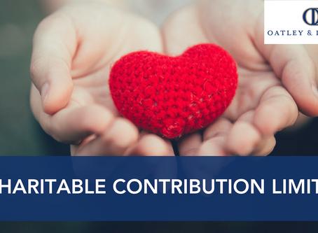 Charitable Contribution Limits