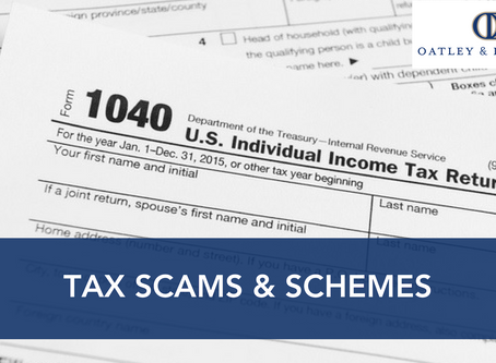 Tax Scams & Schemes