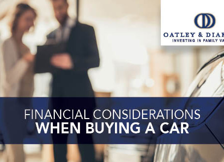 Financial Considerations When Buying a Car