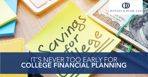 It's Never Too Early for College Financial Planning