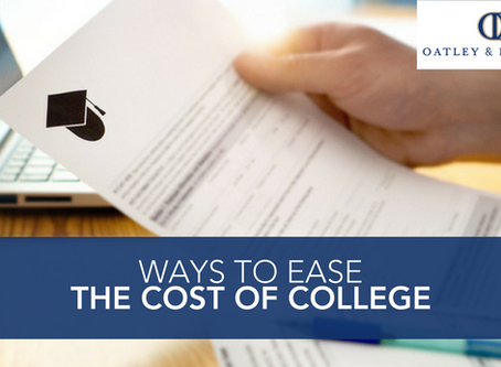 Ways to Ease the Cost of College