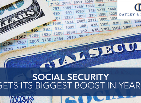 Social Security Gets Its Biggest Boost in Years
