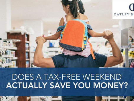 Does a Tax-Free Weekend Actually Save You Money?