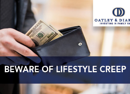 Beware of Lifestyle Creep