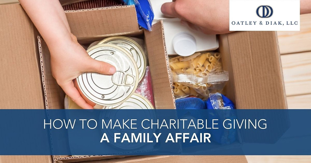 How to Make Charitable Giving a Family Affair