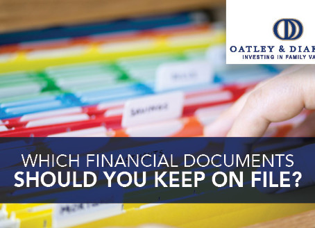 Which Financial Documents Should You Keep On File?