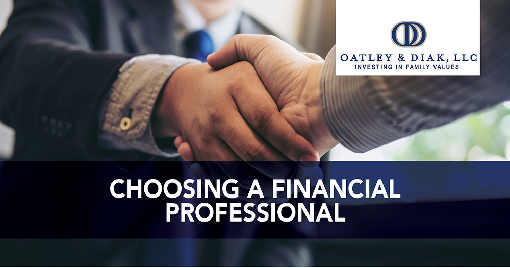 Choosing a Financial Professional