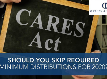 Should You Skip Required Minimum Distributions for 2020?
