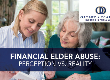 Financial Elder Abuse: Perception vs. Reality