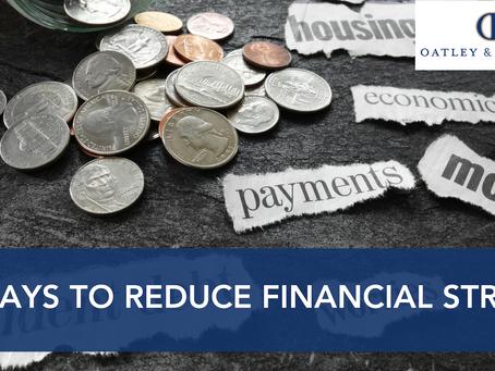 7 Ways to Reduce Financial Stress