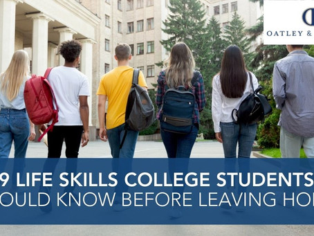 Life Skills College Students Should Know Before Leaving Home
