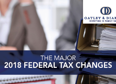 The Major 2018 Federal Tax Changes