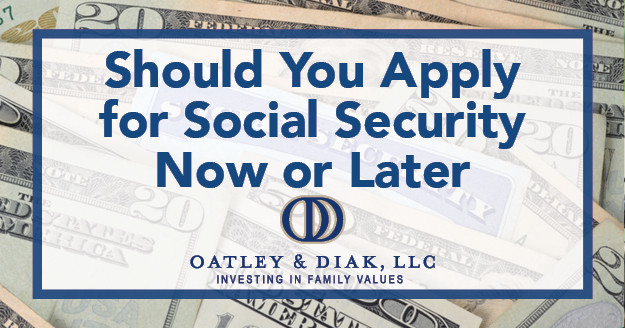 When it comes to the question of Social Security income, the choice looms large. Should you take payments now or later?