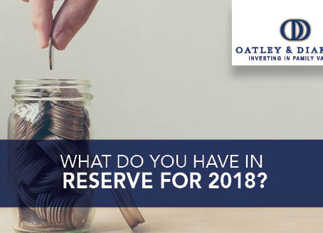What Do You Have in Reserve for 2018?