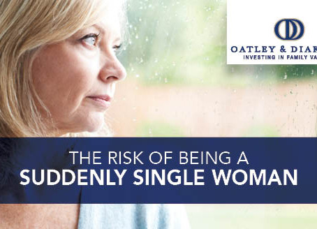The Risk of Being a Suddenly Single Woman