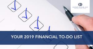 2019 financial planning