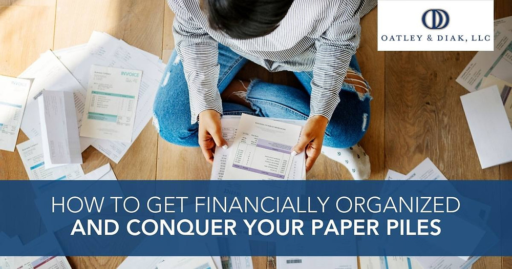 How to Get Financially Organized and Conquer Your Paper Piles