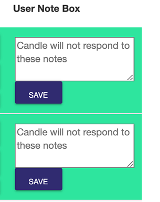 The User Note Box – Collaborate with Your Team