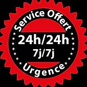 service de réparation en urgence