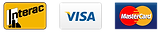 Payement, Interac, Visa, Master Card
