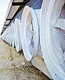ventilation tunnel secco