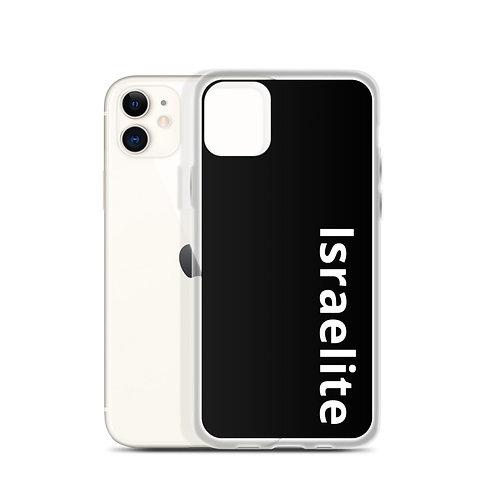 """Israelite"" iPhone Case Black"