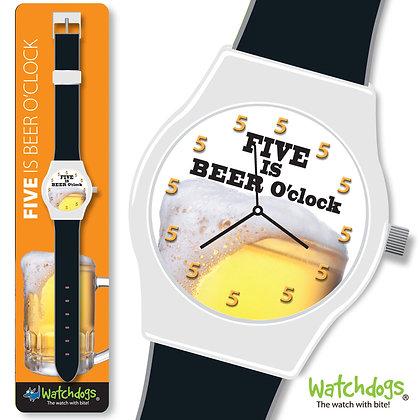 Five is Beer O'clock Watch