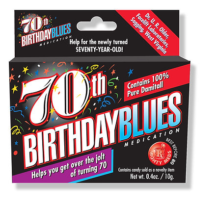 70th Birthday Blues
