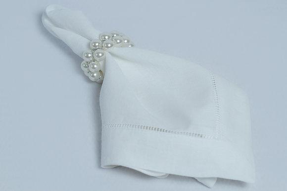 Pearl Napkin Ring Holder