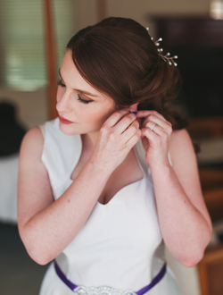 Bride Makeup and Hair styling