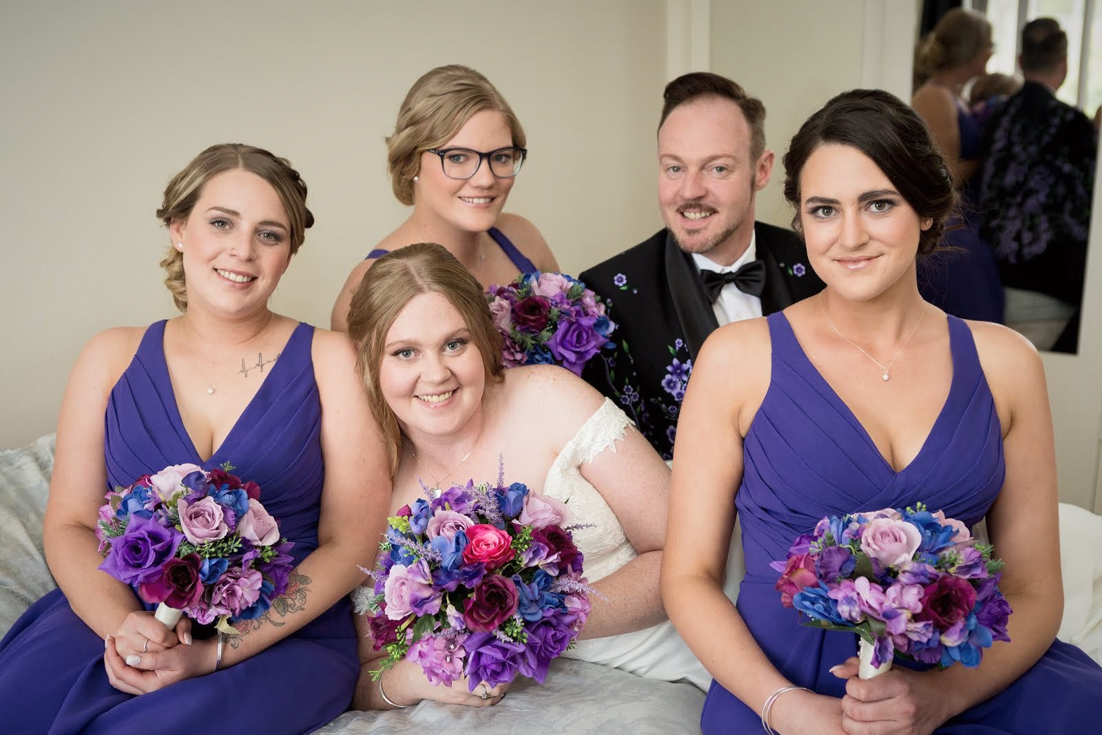 Bridal Party Makeup & Hair Styling