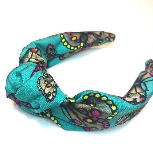 Butterfly Headband-Aqua