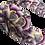 Thumbnail: The Rainbow Headband-Purple and Lemon