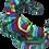 Thumbnail: The Rainbow Headband-Multi
