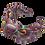 Thumbnail: Rainbow Headband-Mauve