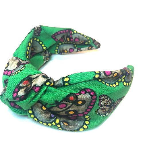 Butterfly Headband-Green