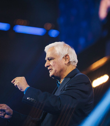 Ravi speaking at Hillsong Conference