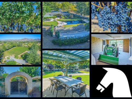 Bring your love for luxury, wine and horses to this fabulous property in Napa, CA