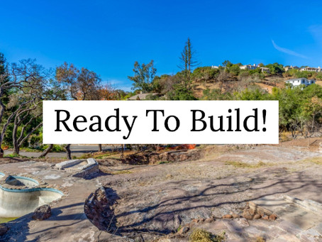 Build Your Napa Valley Dream Home!