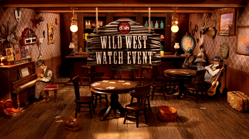 DISH's Wild West Watch Event Commercial