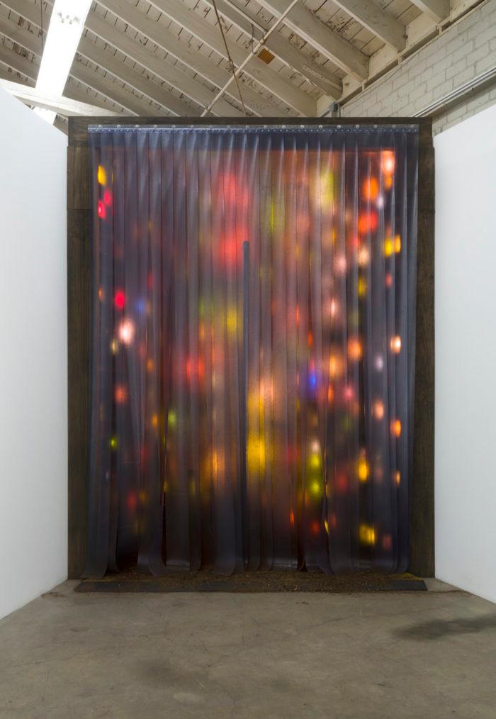 Derek Fordjour installation night galler