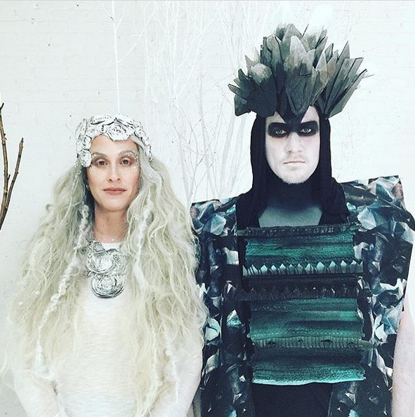 Costumes for Alanis Morisette & Souleye's music video Snow Angel, 2016