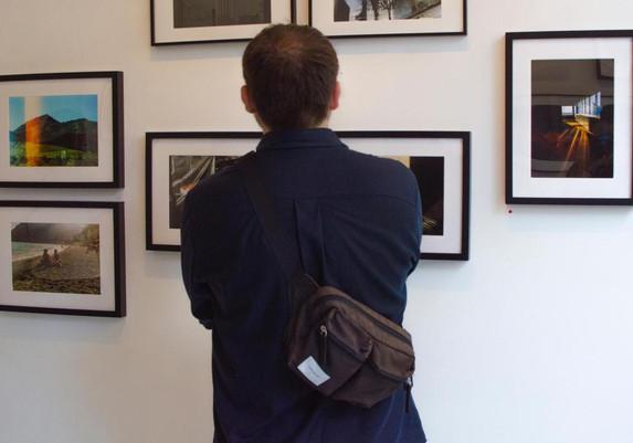 Vue de l'exposition - Vernissage