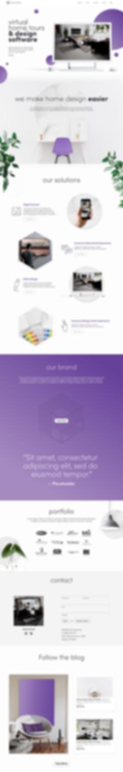 Roomored Website Design