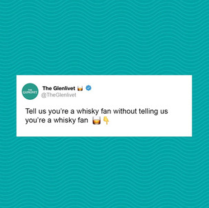 Tell us you're a whisky fan without tell