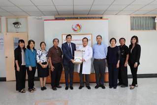 Visit Chulabhorn International College of Medicine, Thammasat University